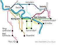 Sächsische Schweiz-Osterzgebirge, Heimkehrerbörse, Leben, OPNV, Öffentlicher Personennahverkehr, VVO, Verbindungen, Bus, Wanderbus, Verkehrsmittel, Streckennetz