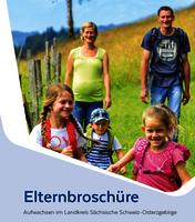 Elternbroschüre Aufwachsen im Landkreis Sächsische Schweiz-Osterzgebirge