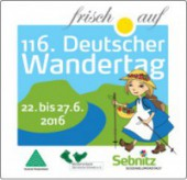 Logo 116. Wandertag